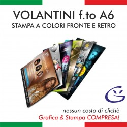 VOLANTINO A6 - FRONTE/RETRO