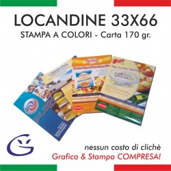 LOCANDINA 33x66 - CARTA 170 Gr.
