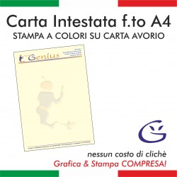 Carta intestata avorio